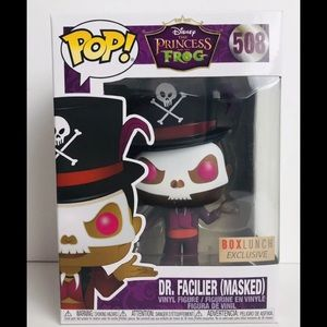 Funko Pop! Dr. Facilier Masked Box Lunch Exclusive